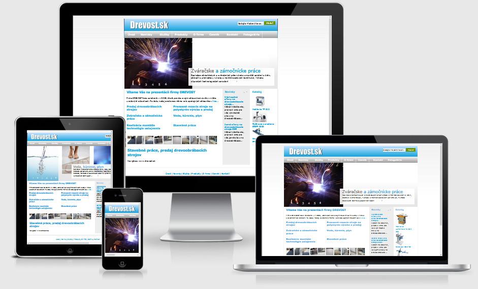 Internetová prezentácia drevost.sk