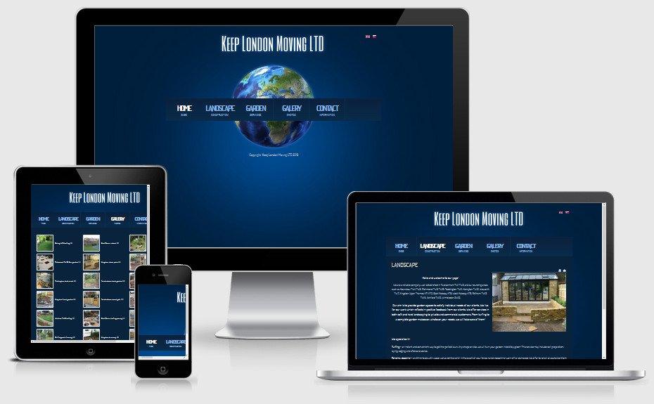 Internetová prezentácia keeplondonmoving.uk