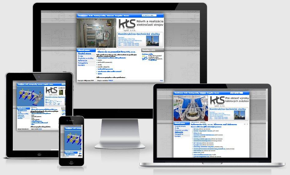 Internetová prezentácia kts-bn.sk