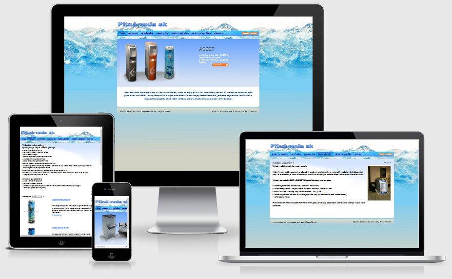 Internetová prezentácia pitna-voda.sk