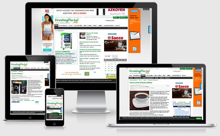 Portál o vendingu www.vendingportal.eu