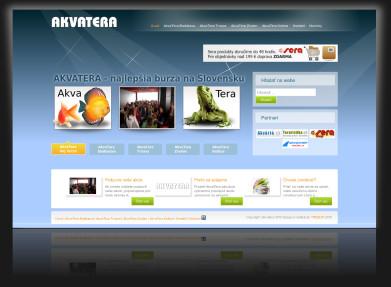 Internetová prezentácia www.akvatera.sk