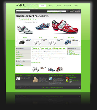 Internetový obchod Cyklo-centrum.eu