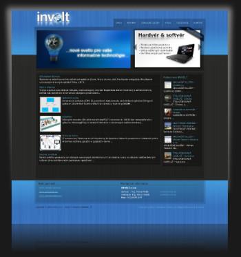 Internetová prezentácia www.invelt.sk