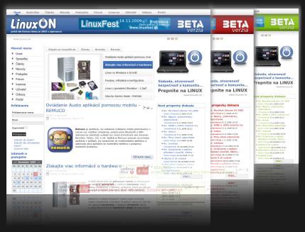 Internetový portál www.linuxon.sk