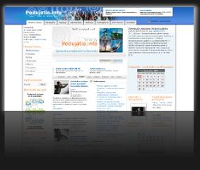 Internetový portál www.podujatie.info