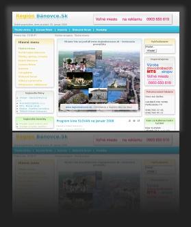 Regionálny portál www.regionbanovce.sk