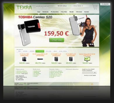 Internetový obchod tekra.sk