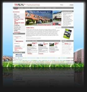 Internetová prezentácia www.tnreal.sk